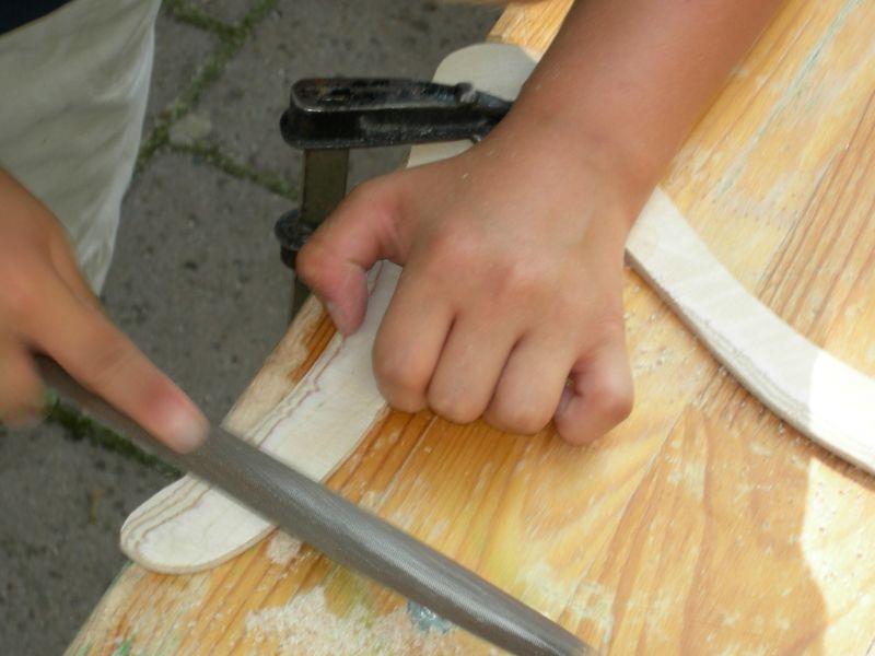 Holzbumerangs bauen