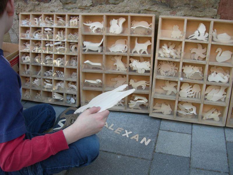 Holzfiguren zum Basteln