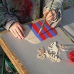 Kindergeburtstag Türschilder basteln in Gießen