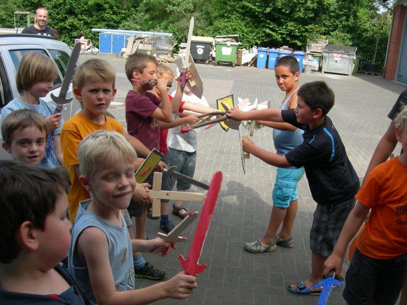 Ritterkampf Kindergeburtstag Marburg