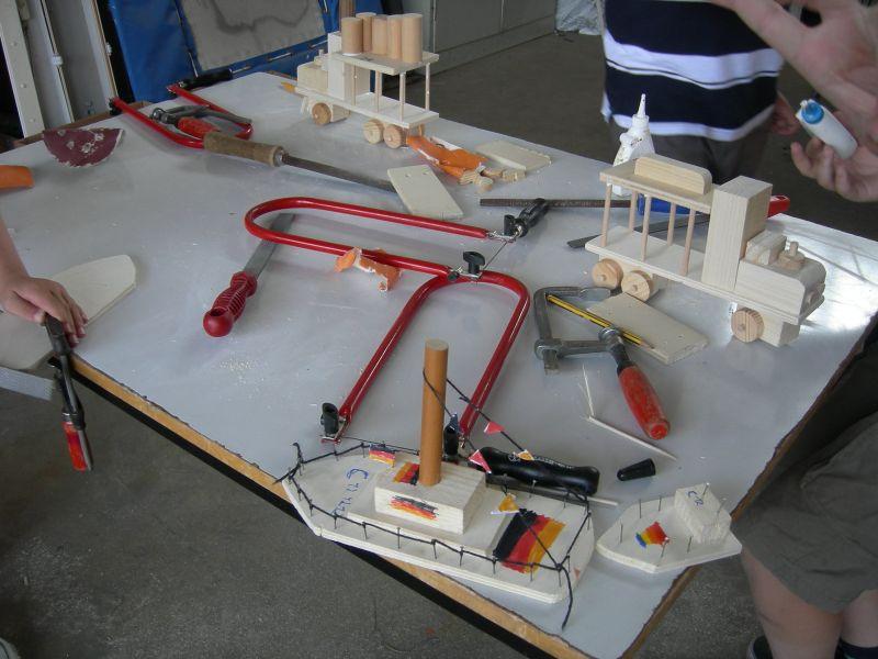 Werk-AG in einer Grundschule