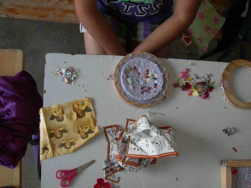 Workshop Papierschöpfen mit Kindern